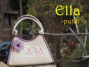 Ella, tas kerajinan, handmade, rajut, tas pesta, jola handmade